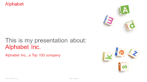 16 9 Template Alphabet Powerpoint Template Presentationgo Com