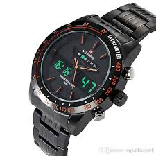 naviforce luxury brand led quartz sport watch men stainless steel 1 factory price 2 shipping generally takes 10 35 days via singaporepost much faster than post will ship by express dhl fedex aramex ems etc if