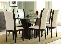 rectangular glass top dining table large size of rectangle dining table for 6 round glass kitchen