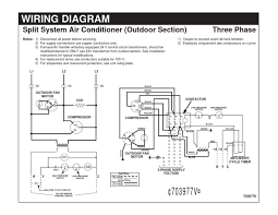 wiring diagram split system air conditioner electrical circuit diagram of air conditioner at Ductable Ac Wiring Diagram