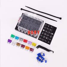 fuse box connectors reviews online shopping fuse box connectors 12 way fuse set terminals circuit atc ato car auto blade fuse box block holder 10 pcs fuse fuse puller and 10pcs connectors