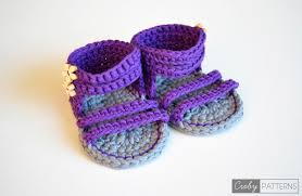 Free Crochet Patterns For Baby Sandals New Design Ideas