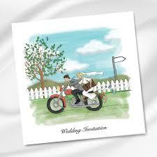 motorcycle wedding invitation ireland weddingprint ie