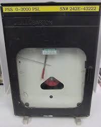 Itt Barton Chart Recorder Differential Pressure 242e 43222