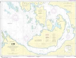 Alaska Nautical Charts Noaa Nautical Chart 17379 Shakan Bay And Strait Alaska