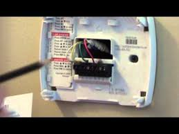 emerson sensi wifi smart thermostat unboxing and installation how to wire a sensi thermostat wifi thermostat