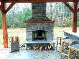 fireplace plans outdoor free construction for elegant cost of to install indoor