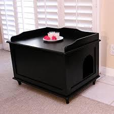 designer catbox litter box enclosure in black 0 catbox litter box enclosure