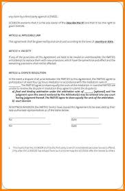 Contract Agreement Template Between Two Parties Simple Contract Agreement Between Two Parties Yupar