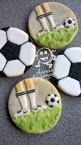 Football Cookie Cake Designs Soccer Sugar Cookies With Royal Icing Cookie Cake Design