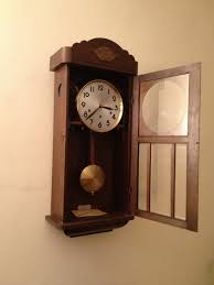 antique pendulum wall clock parts