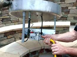 how to build outdoor gas fire pit build a gas fire pit how to build an how to build outdoor gas fire