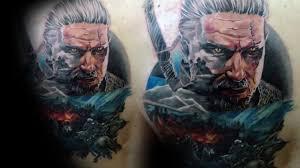 тату ведьмак 60 татуировок по мотивам игры