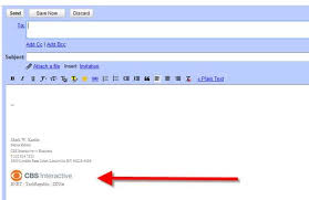 Slideshow How To Create A Graphical Signature In Gmail