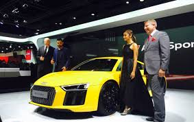 new car launches audiAuto Expo 2016 Audi launches new R8 V10 Plus for Rs 247 crore