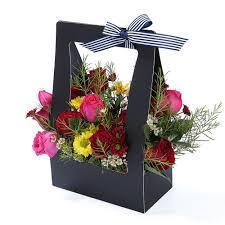 Paper Flower Arrangements Usd 5 02 Portable Folding Flower Box Creative Paper Floral Flower