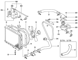 page 054 land cruiser diesel cooling system 2 74 later b and 3b diesel