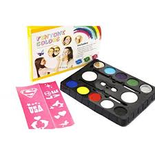 face paint kit best kids makeup set this painting kits for cool birthday