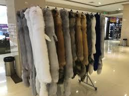 100% Natural <b>Real Fox Fur</b> Scarf For Women Fashion Winter ...