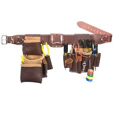 occidental leather 5036s leather pro electrician set tool belt small size
