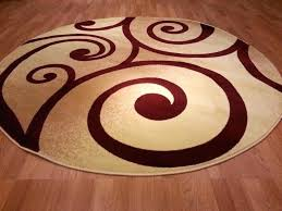 interior red circle area rugs decoration contemporary kitchen round image of remarkable large intestine function frog