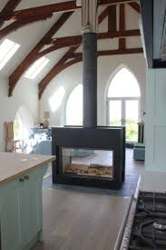 best 25 freestanding fireplace ideas on