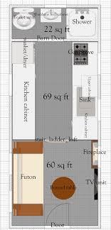 tiny house plan 5 ground floor