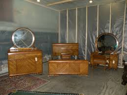 art bedroom furniture. antique art deco waterfall furniture bedroom set full queen