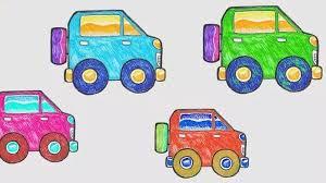 23+ Contoh Gambar Mobil Anak Tk Pics