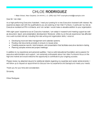 Administrative Assistant Cover Letter Example Perfect Imagine
