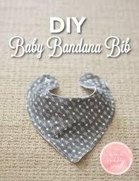 Bandana Bib Pattern Custom DIY Baby Bandana Bib