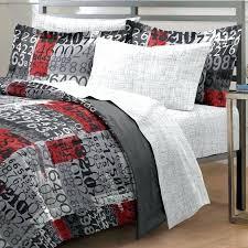 gray twin bedding dark grey xl
