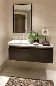 kohler bathroom vanity powder room vanity sink cabinets purist in bathroom contemporary with floating sink next