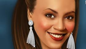 beyonce celebrity makeover