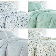 details about luxury 100 percent cotton sateen fl printed duvet cover set