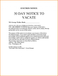 9 30 days notice letter to landlord sle