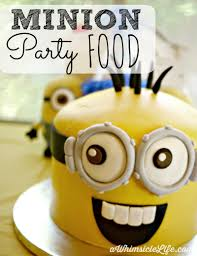 Host a Minion Themed birthday party with this simple food party plan. Serve  minion meatballs