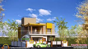 flat roof house tamilnadu kerala home design and floor plans