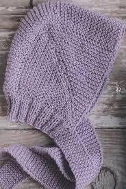 Baby Bonnet Knitting Pattern Interesting Decoration