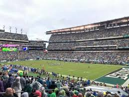 Lincoln Financial Center Philadelphia Seating Chart Lincoln Financial Field Section 125 Home Of Philadelphia