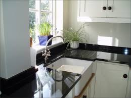 Granite Worktops For Kitchens Absolute Black Granite Worktop With Grooved Drainer