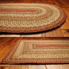 braided rug runners braided rug runners area rugs chenille jubilee cotton oval washable kitchen woven