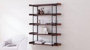 beckett 48 5 tier wall shelf sable