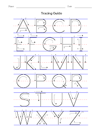 Learning To Write Abc Worksheets Worksheets for all | Download and ...