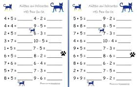 Simple Math Addition Worksheets Kindergarten For All Photo Simp ...