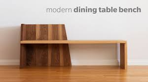 modern dining table with bench. Mid Century Modern Dining Bench - How To Build Woodworking Table With