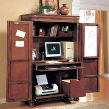 white hideaway desk a hidden office desk cabinet home imposing decoration  furniture computer white painted hideaway