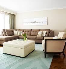 ApartmentDelightful Apartment Living Room With Brown Sectional Sofa Ideas  Apartment Living Room Design Ideas