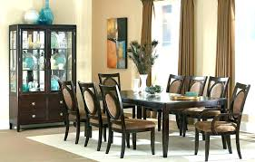 large round oak dining table 8 chairs appuestame for seater square