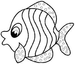 Small Picture Fish Coloring Pages New Fish Coloring Pages For Preschoolers